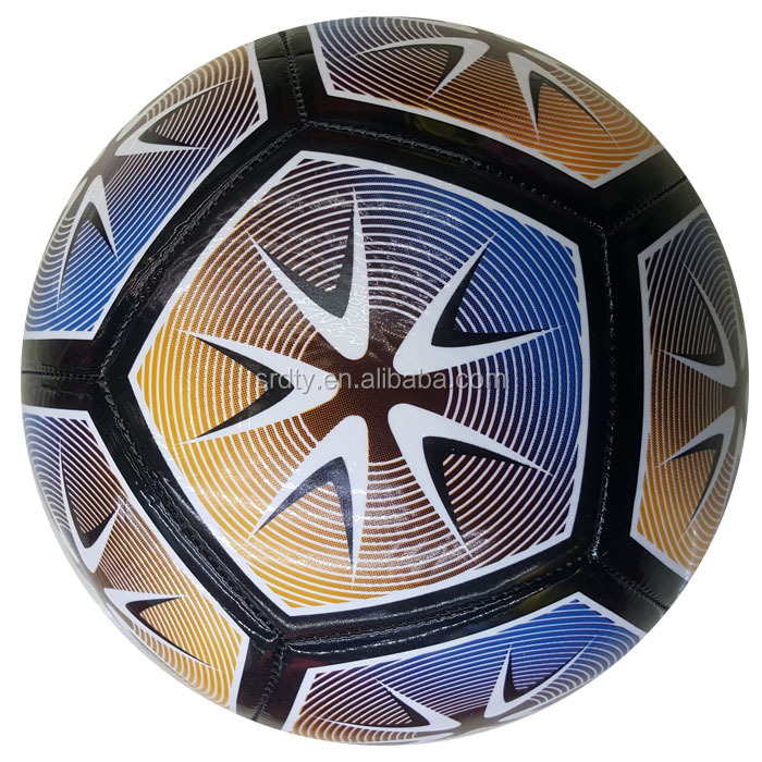 Best-selling the Newest model Economical Custom Design PVC Material football soccer