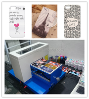 Phone Cover/Case UV Flatbed Printer Printing Machine