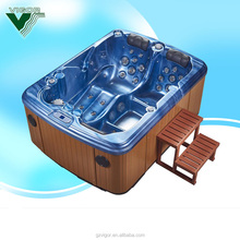 Factory Inflatable Spa pool, Oval 2 person Hot Tub,air bubble 2 person indoor hot tub