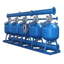 Automatic Sand Filter Machine Filter Housing For Water Treatment