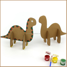 3D colorful diy painting,dinosaurs world frame drawing sets,creative kids cardboard gifts