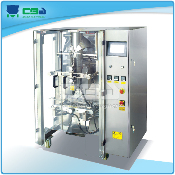 Automatic vertical packaging machine for oat flake