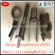 Customize metal used auto parts germany, cast iron auto parts,auto seat parts in Dongguan