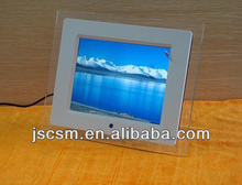 Battery operated 8inch digital photo frame picture slideshow album for lovers
