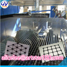 plastic compound grid for road construction fiber glass subgrade geogrid