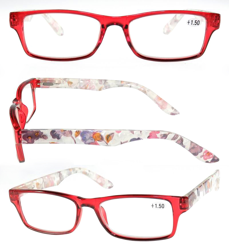 Best selling pc italy design ce reading glasses smart lady reading glasses