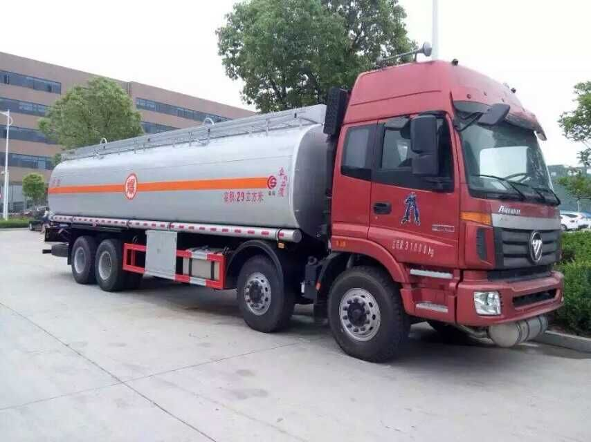 for sale FOTON fuel tanker truck 8*4 15001L-300000L