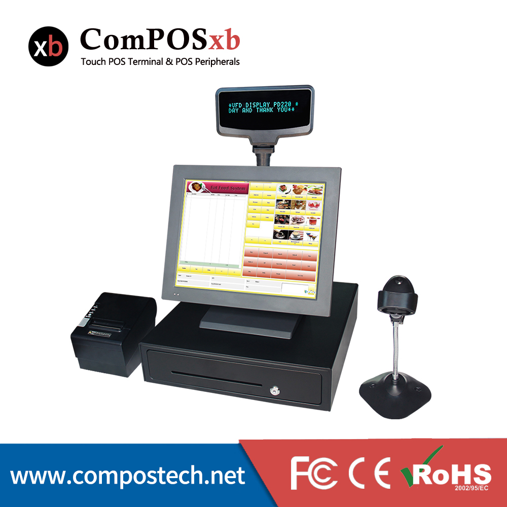 15inch Cashier Machine For Hospitality,Inventory,Clothing ...