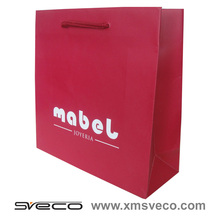 Hand Length Handle Sealing & Handle and Shopping Industrial Use red paper bag for gift