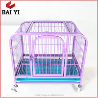 Collapsible Decorative Pet Dog Cage Dog Crate Kennel / Pet Metal Cage From China Manufacturer