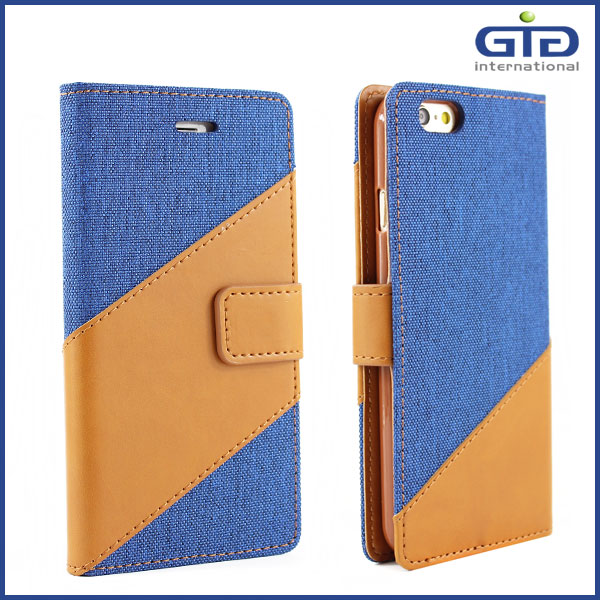 [GGIT] OEM Fashionable Mobile Phone Case Wallet Case Cover with Stand