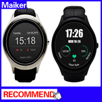 "D5 Smartwatch 1.3"" 360x360 Android 4.4 OS 512MB + 4GB MTK6572 Smart Watch with SIM Bluetooth Heart Rate"