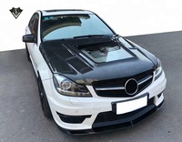 For mercedes benz C class w204 engine hood 2012-2014y carbon fiber w204 bonnet