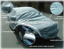Manufactures supplied directly camouflage fireproof car snow cover