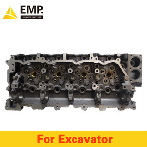 Wholesale 4HK1 engine cylinder head assembly for excavator