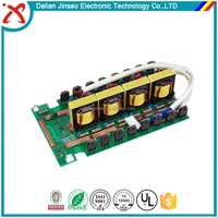 Green solder mask power inverter electronic pcb assembly
