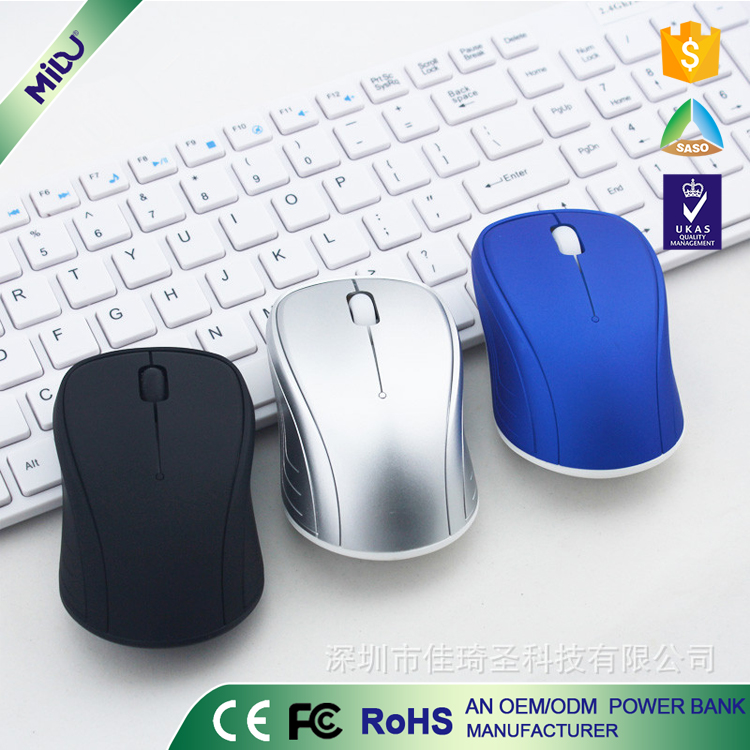 MIDU M-S01 Unique Design USB Optical Wireless Mouse 2.4G Advanced Receiver Mouse For PC