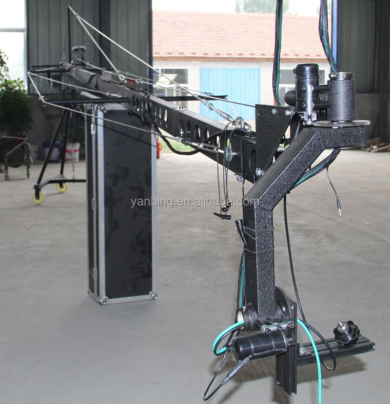Professional 8m Square DV Jimmy Jib Film&Video Shooting TV Camera Crane
