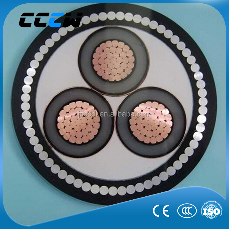0.6/1kV 3 core swa steel wire armoured electrical cable