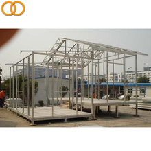 Luxury prefab house light steel fully furnished container homes china prefabricated villa