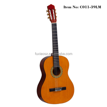 Made In China Wholesale In Stock Laminated Linden Classical Guitar