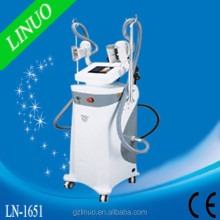 Powerful in fat reduce multipolar rf cavitation cryolipolysis device