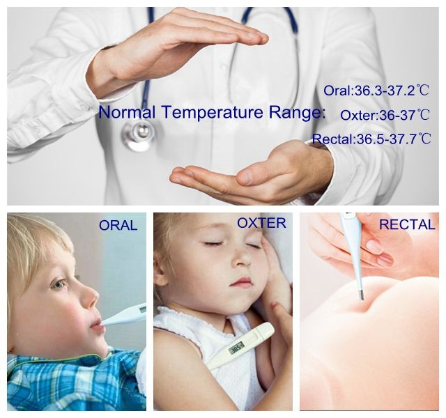 Lovely baby color Medical & Household Baby Digital Thermometer