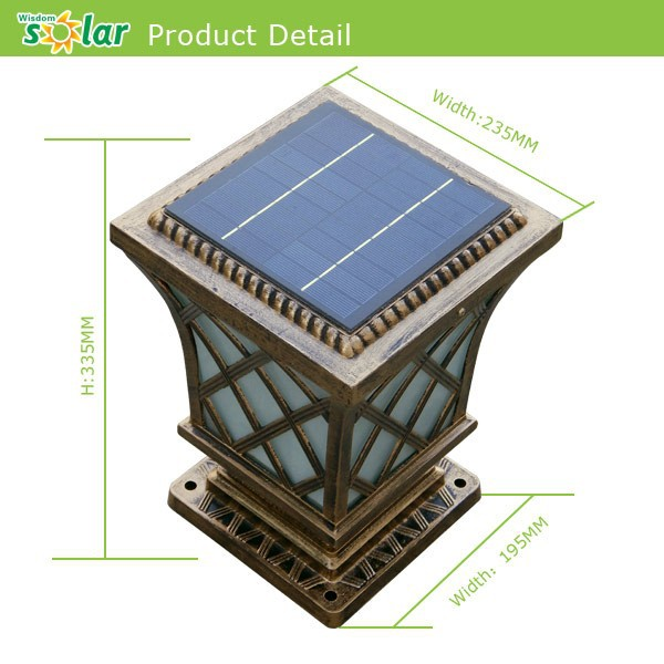 Outdoors solar sensor wall lighting,Compound wall lights outdoor wall lighting lantern JR-CP12 ...