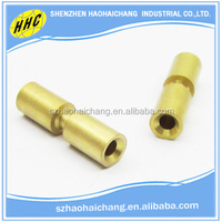 2016 Shenzhen hot selling newest product hollow brass male and female bolt