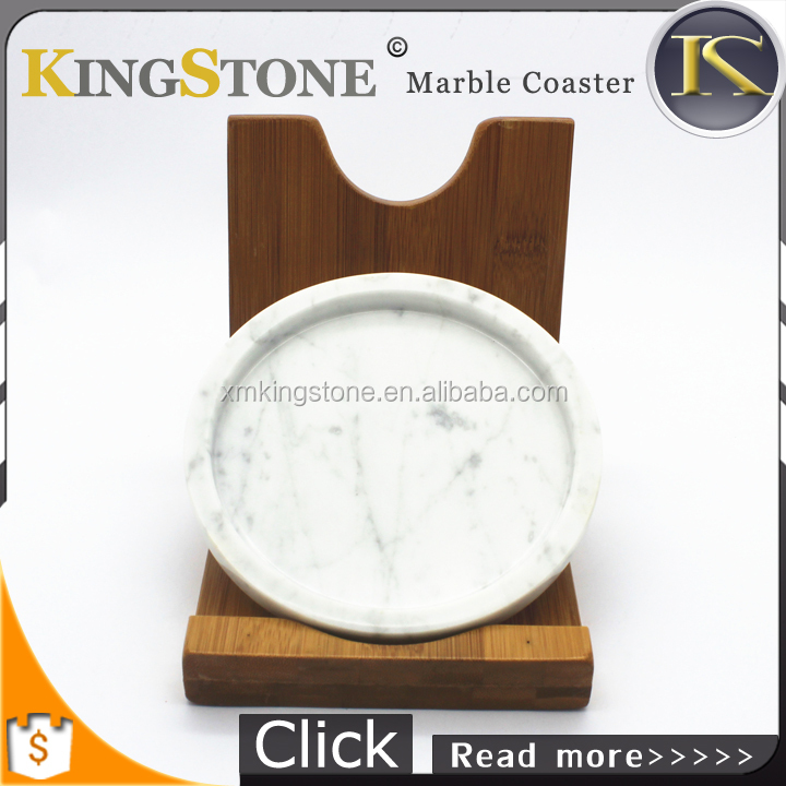 <strong>Natural</strong> Stone Coffee Cup Table Mats Mug Holder White Marble Drink Coaster
