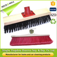 broom parts wooden push broom