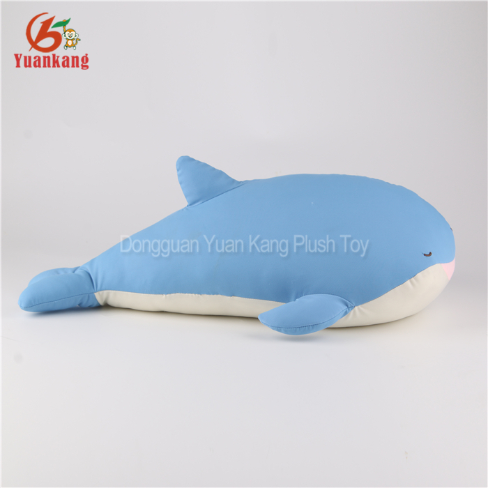 Marine animal 54cm plush blue whale toy