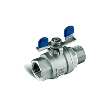108mm 2 WAY BALL VALVE FOR GAS, BUTTERFLY HAHDLE, DVGW