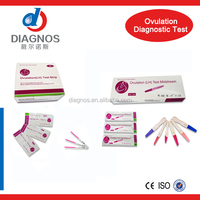 CE fast check Medical diagnostic LH Ovulation Test female use