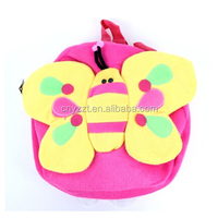 2014 professional producing kids plush animal backpack/ children school backpack