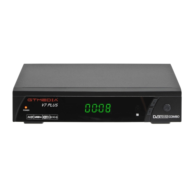 V7 Plus DVB-S/S2 1080P Full HD digital mini GTMEDIA Receiver tv <strong>satellite</strong> with USB wifi
