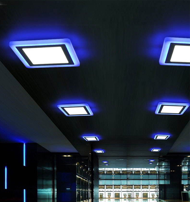 Smart Decorative RGB Dual Double Colour Changing Led Panel Light