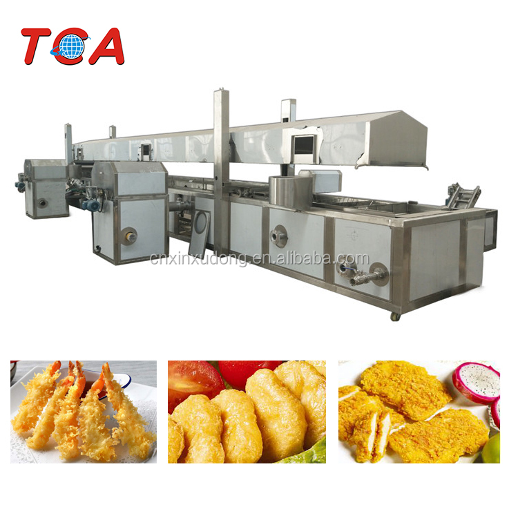 XDL-8500 Automatic continuous deep fryer / frying machine