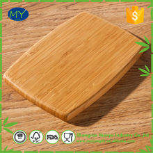 Promotional zebra stripe bamboo cutting board chopping block With ISO9001 Certificate