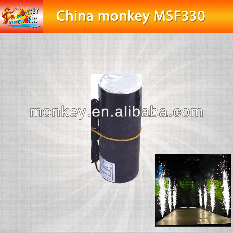 3meters 30seconds smokeless no smell cold satge fountain for sale for stage use fireworks(MD330)