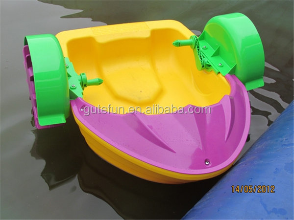 easy and convenient to install paddle boat water play paddle boat equipment