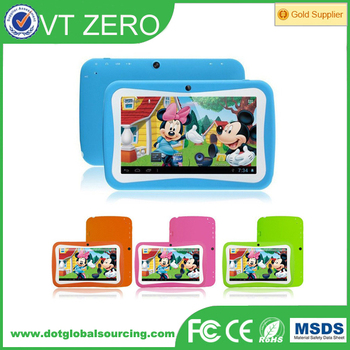 "Baby tablet 7"" Kitkat Android 5.1 Quad Core 8G Rom 512mb Ram"