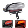 BJ-LPL-069 for Harley Dyna Fat Bob Motorcycle LED Tri-Bar Fender Tail Brake Light