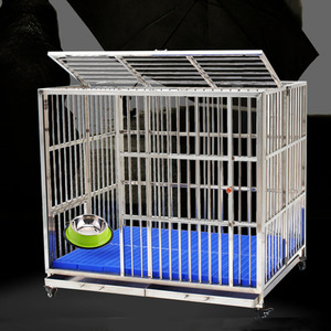 High Quality Wholesale Stainless Steel Dog Cage For Sale Cheap