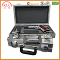 custom-made High quality aluminum pistol case with sponge pad and combination locks