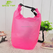 5L/10L/15L/20L/30L/40L/50L Clear Waterproof Dry Bag, Custom PVC Transparent Dry Bag