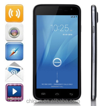 Hot Mtk6582 ORIGINAL Doogee Mobile Phone android 4.4 Original Quad Core 1080P doogee dg310