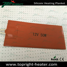 professional custom make wast oil heater heated silicone rubber pad