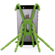 Universal Multi-function plastic Spider Mobile Phone Holder for Samsung,Customs Multiple Spider Cell Phone Holder