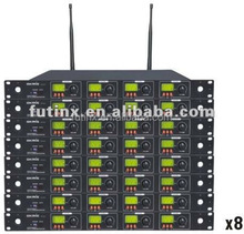 OKMIC UHF/PLL 4 Channel Conference Room Microphone System